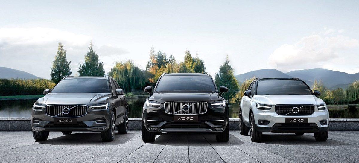 В России активно растут продажи автомобилей Volvo