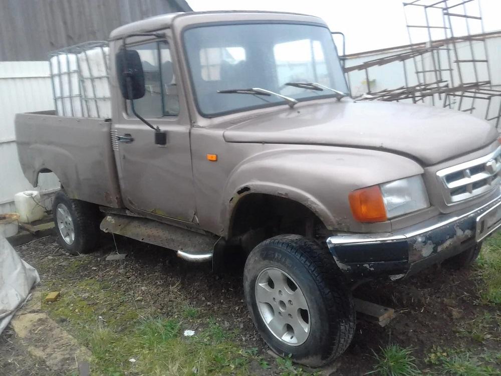 В России выставили на продажу редчайший прототип пикапа ГАЗ