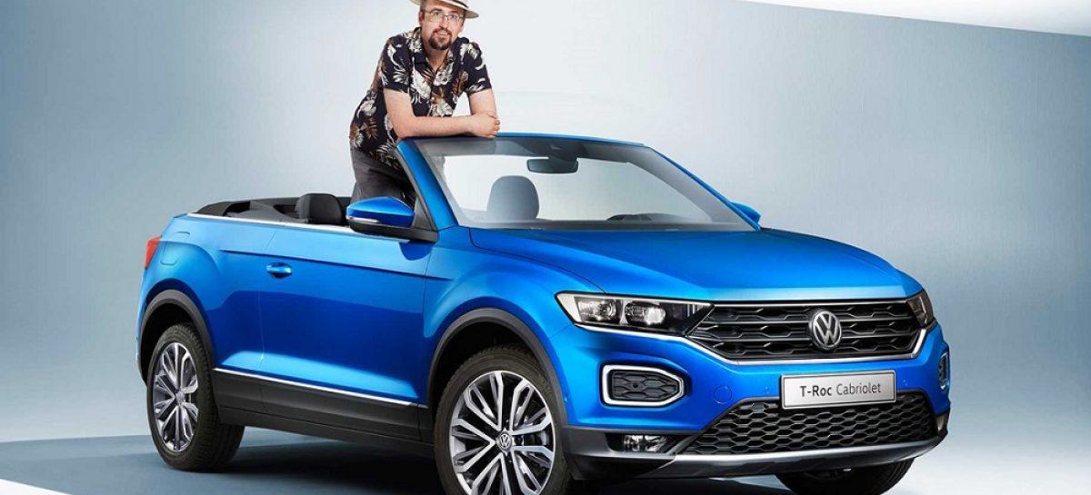 Необычный кроссовер Volkswagen T-Roc Cabriolet стал серийным