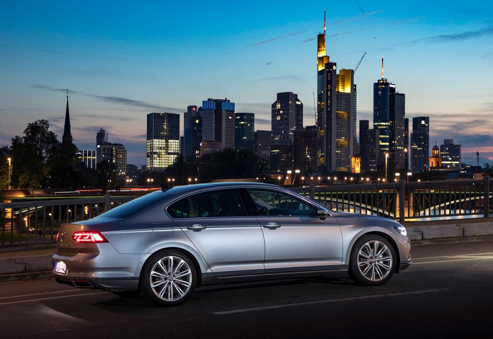 Volkswagen представляет новый Passat