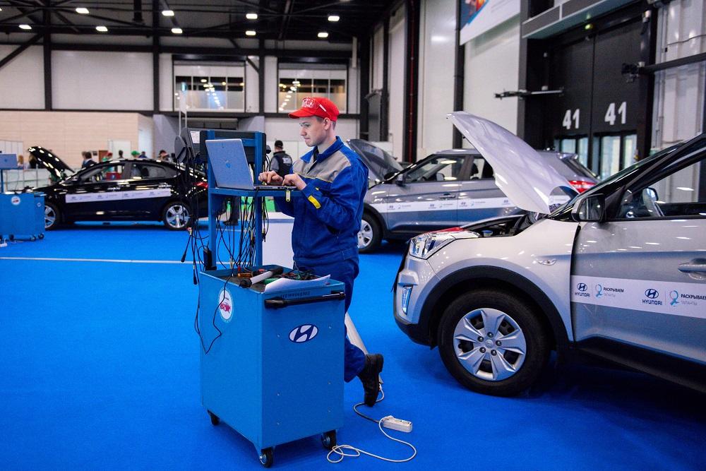 Завод Hyundai Motor в Петербурге выступил партнером чемпионата WorldSkills Russia