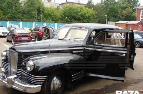 Угнанный лимузин Сталина нашли в Москве