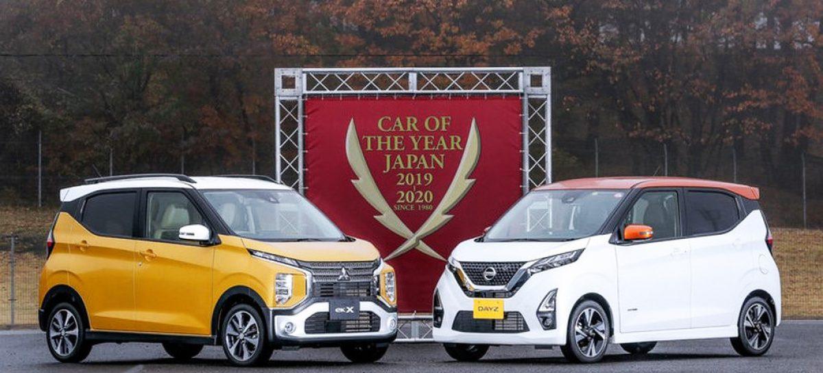 Mitsubishi eK X и eK были названы Автомобилями года в Японии