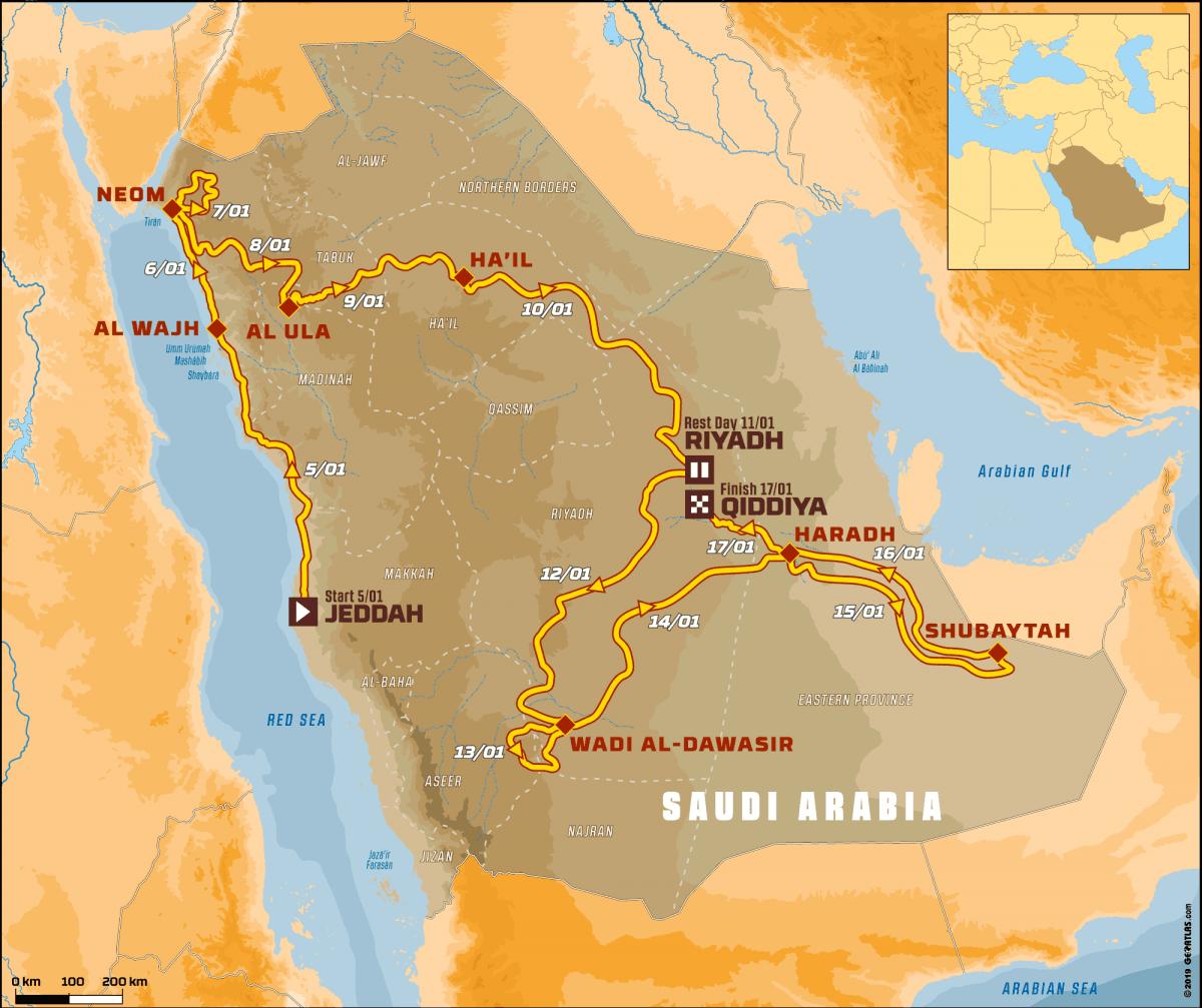 «Дакар - 2020»