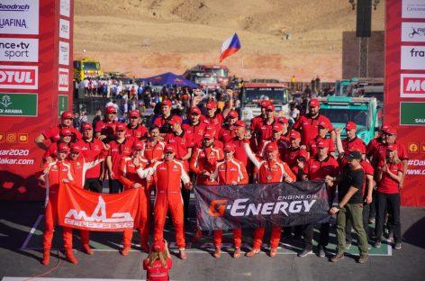 G-Energy Team: «Дакар» финишировал