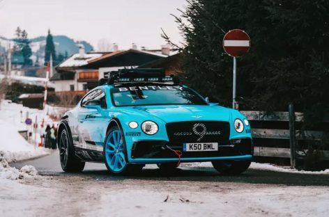 Bentley Continental GT превращается в кроссовер