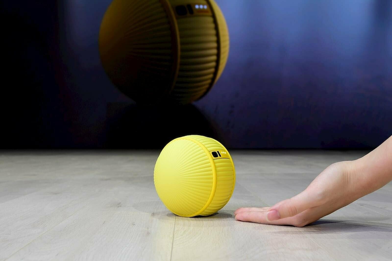 В Samsung создали шарообразного робота Ballie
