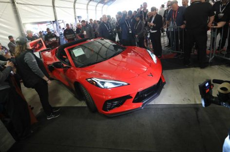 Chevrolet Corvette С8 Stingray продан за 3 млн долларов
