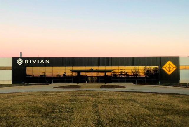 Завод электромобилей Rivian