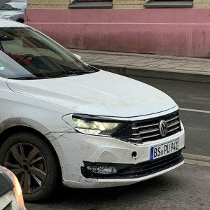 В Москве сфотографировали новый Volkswagen Polo