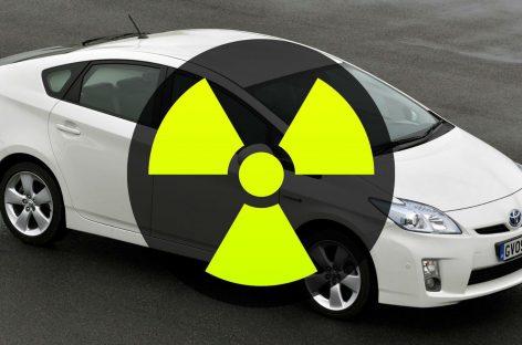 Радиоактивный Prius из Японии обнаружила таможня