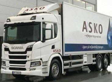 Водородные грузовики Scania выходят на маршруты