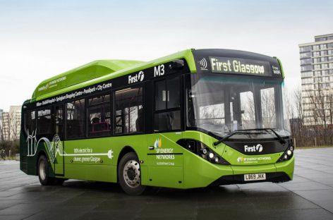 В шотландском Глазго появились китайские электробусы BYD с британскими кузовами