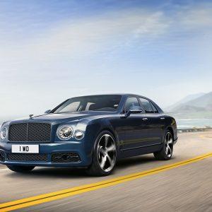 Bentley представляет легендарный Mulsanne последней специальной серии 6.75 Edition