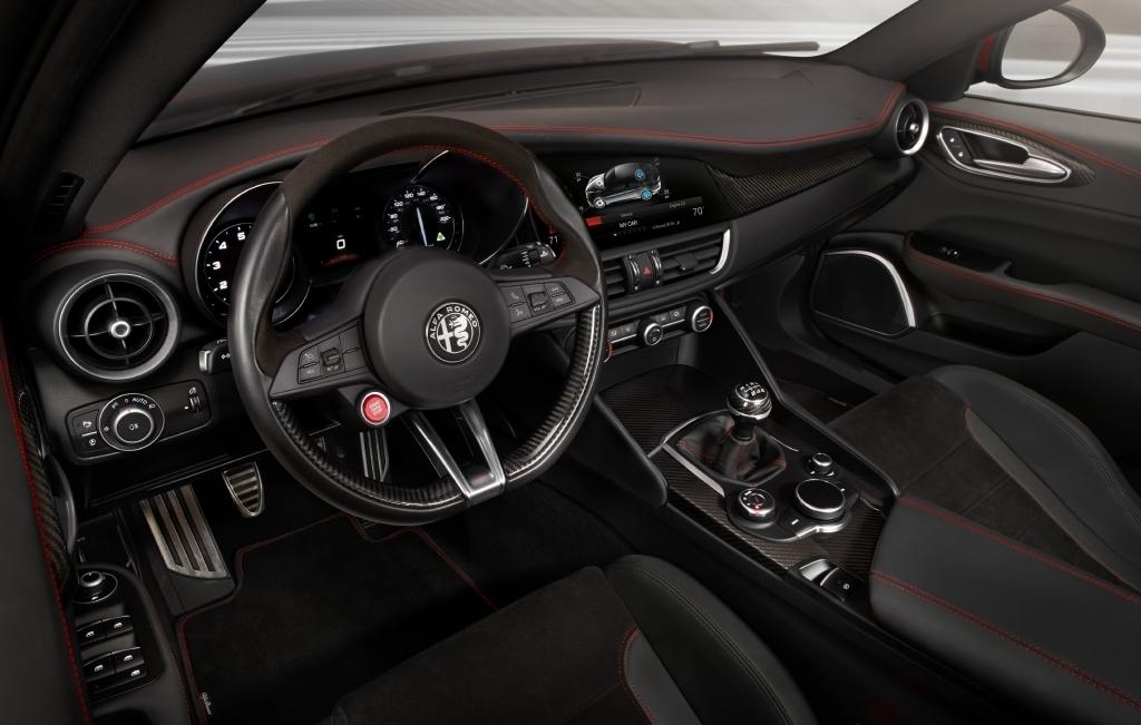 Седан Alfa Romeo Giulia получит экстремальную версию