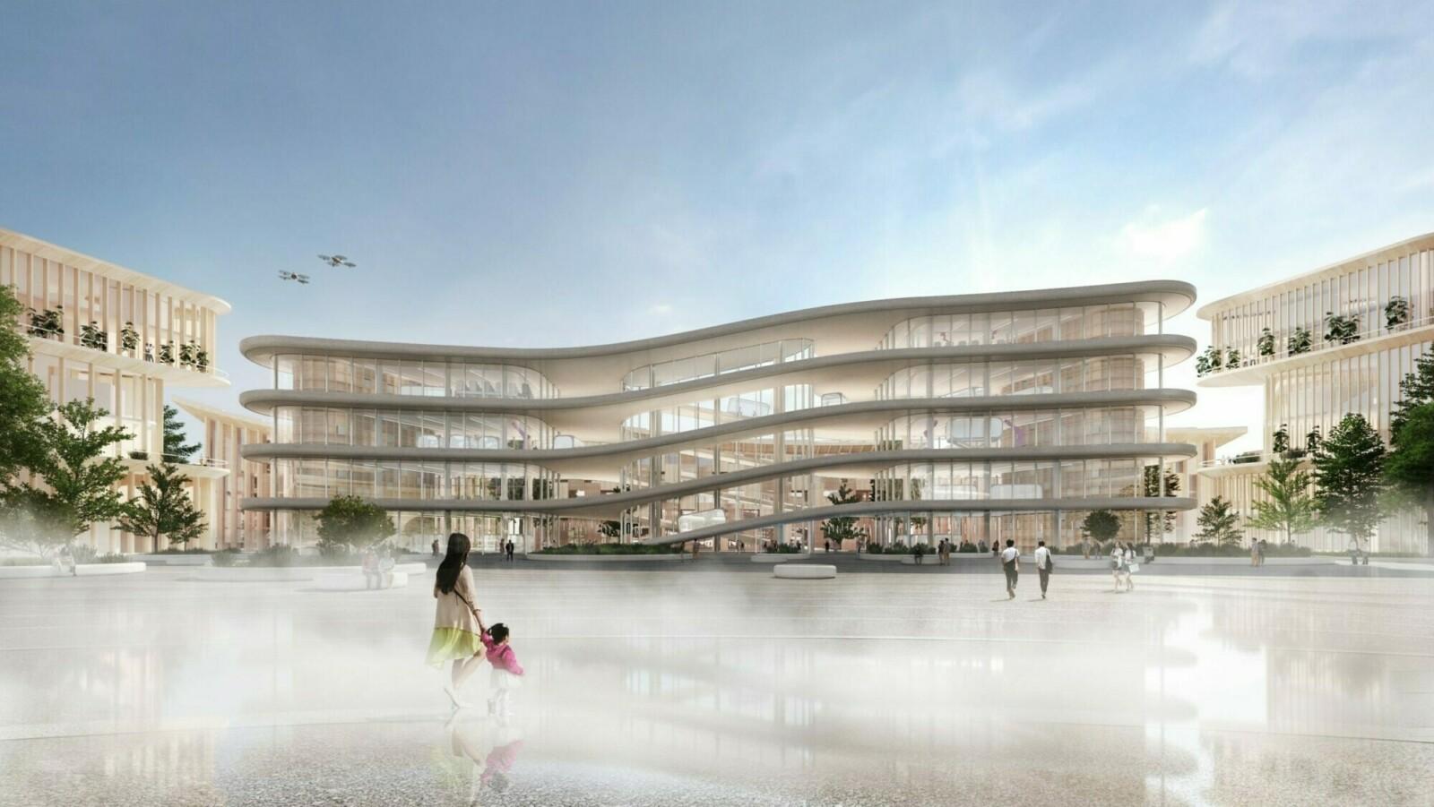 Город будущего для сотрудников Toyota