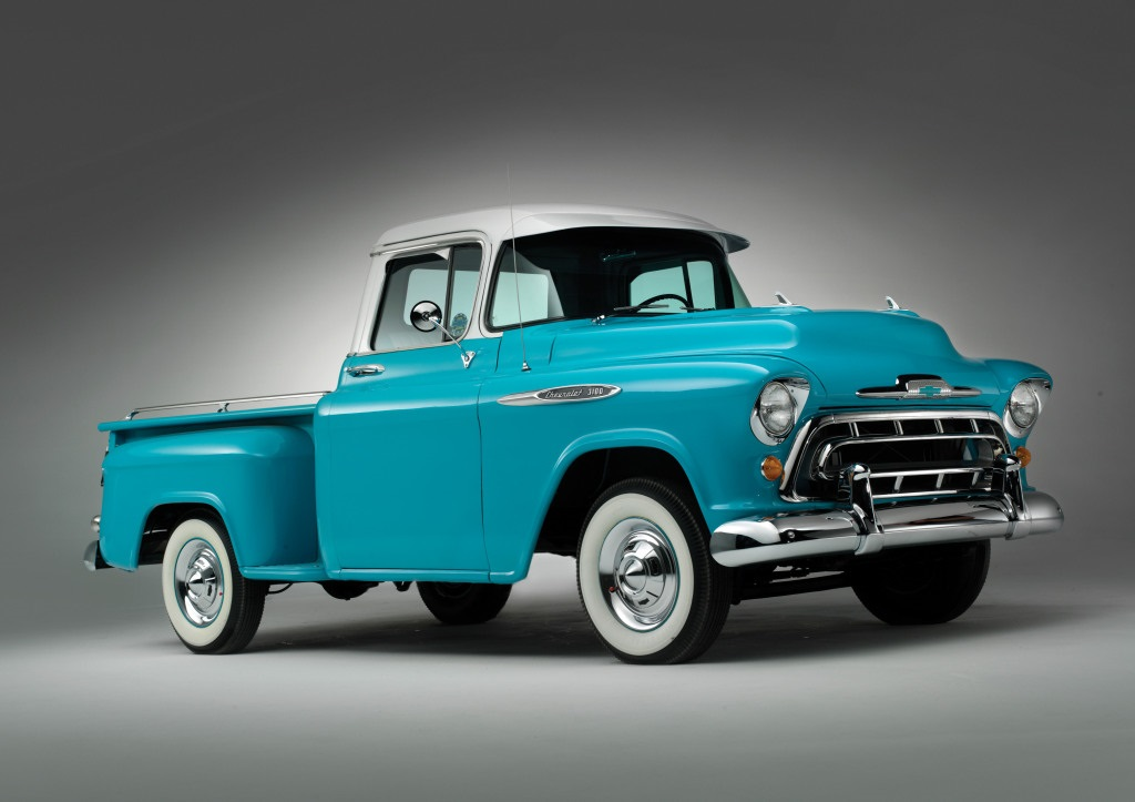Chevrolet 3100 Stepside Pickup Truck 1957