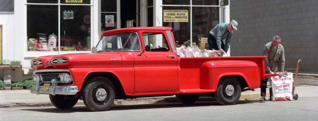 Chevrolet Apache 10 Step-Side Pickup 1961