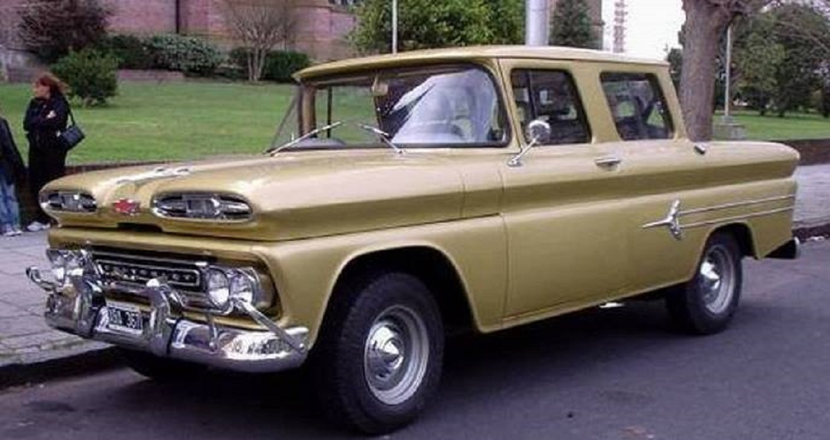 Chevrolet Crew Cab C10 Argentina 1960