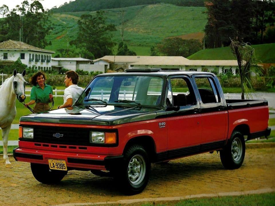 Chevrolet D-20 Quad-Cab 1986