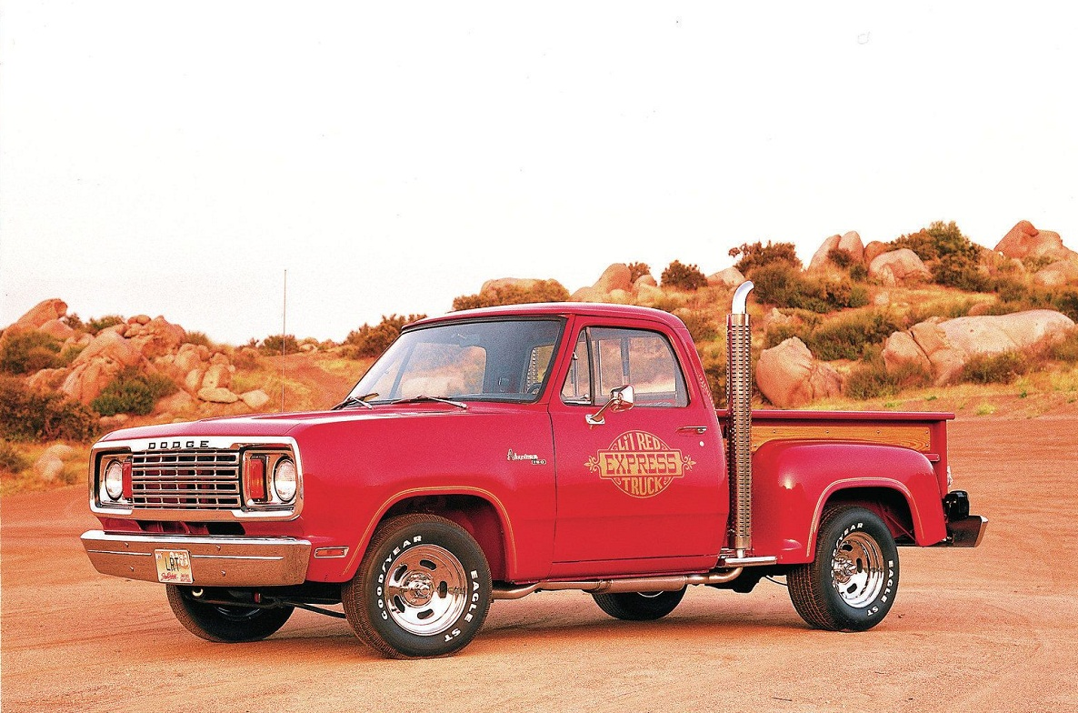 Dodge Lil Red Truck 1978-79