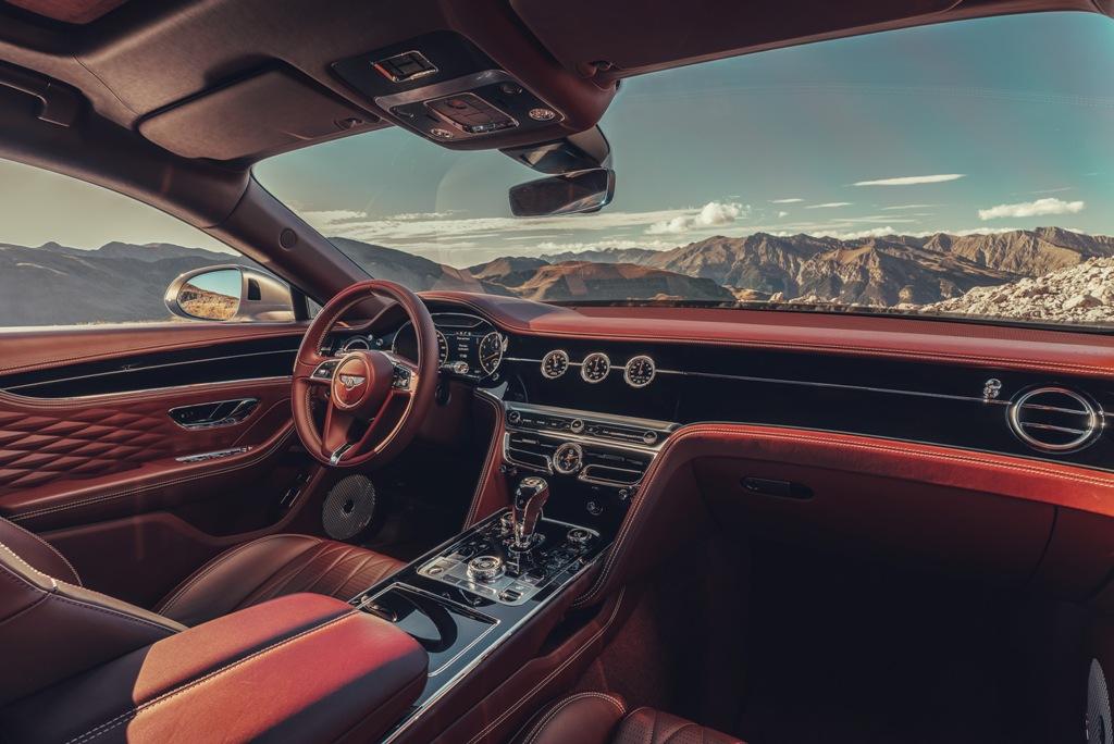 Новый Bentley Flying Spur в деталях