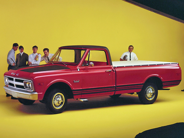GMC C2500 Wideside Pickup 1968