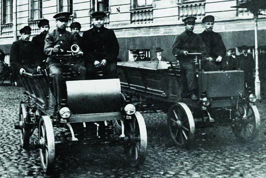 Грузовики Фрезе 1901