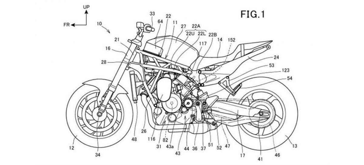 Honda вспомнила давно забытую конструкцию для турбобайка