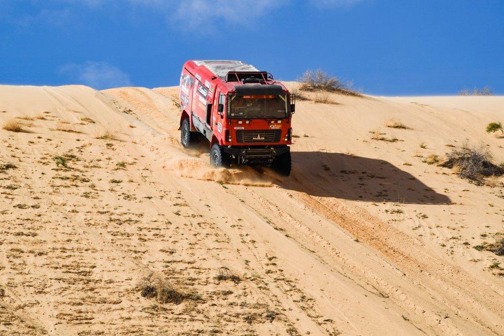 G-Energy Team: Шестой этап – Эр-Рияд приветствует «Дакар»