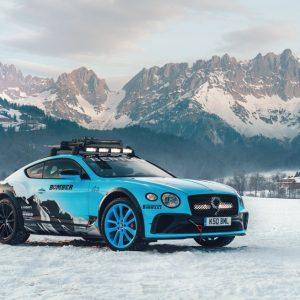 Bentley Continental GT выступит в гонке GP Ice Race
