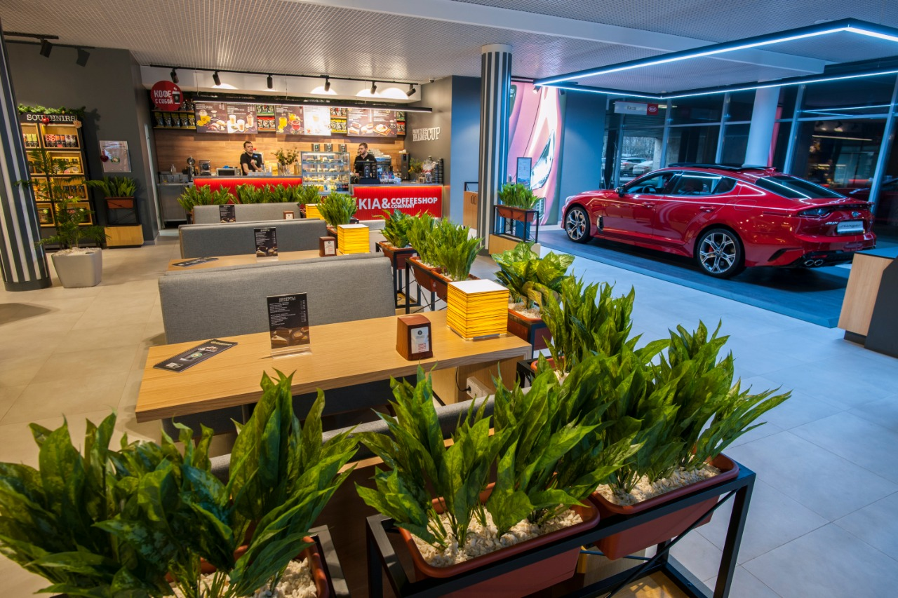Kia Motors и Favorit Motors представляют новый формат дилерского центра
