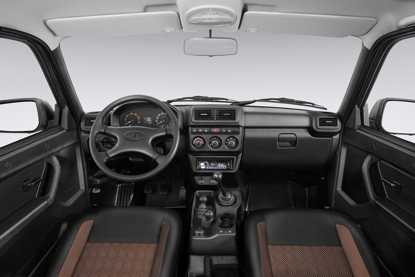 LADA 4x4 interior