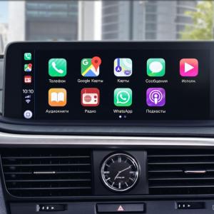 Lexus объявляет о запуске сервиса обновления мультимедийных систем