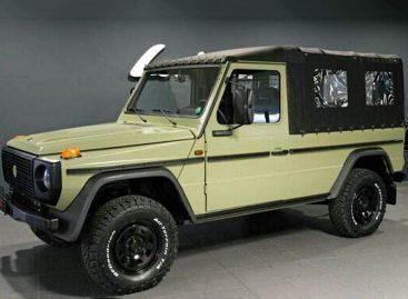 В Германии недорого продают 34 военных Mercedes-Benz G-класса