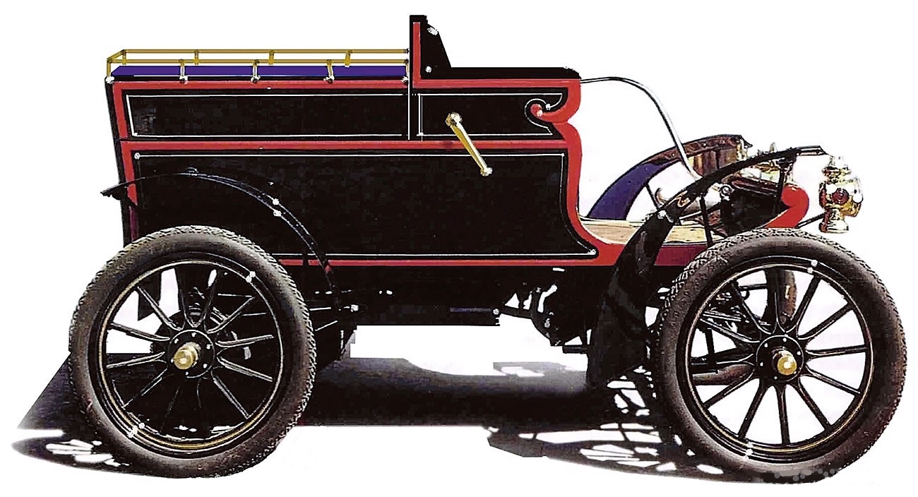 Oldsmobile Box Body Runabout 1904
