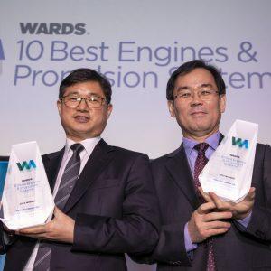 Двигатели Hyundai дважды отмечены наградами в премии «10 лучших двигателей» журнала WardsAuto