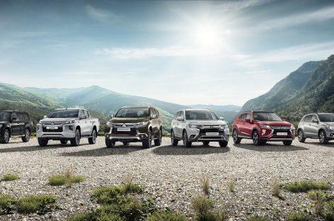 Результаты продаж автомобилей Mitsubishi в России за 2019 год