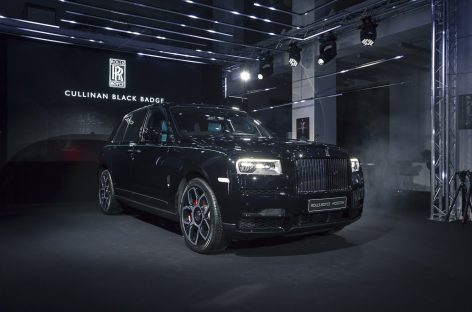 Российская премьера Rolls-Royce Cullinan Black Badge