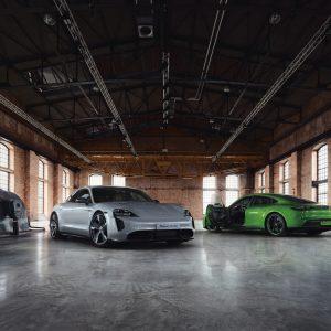 В Porsche Exclusive Manufaktur каждый Taycan становится уникальным