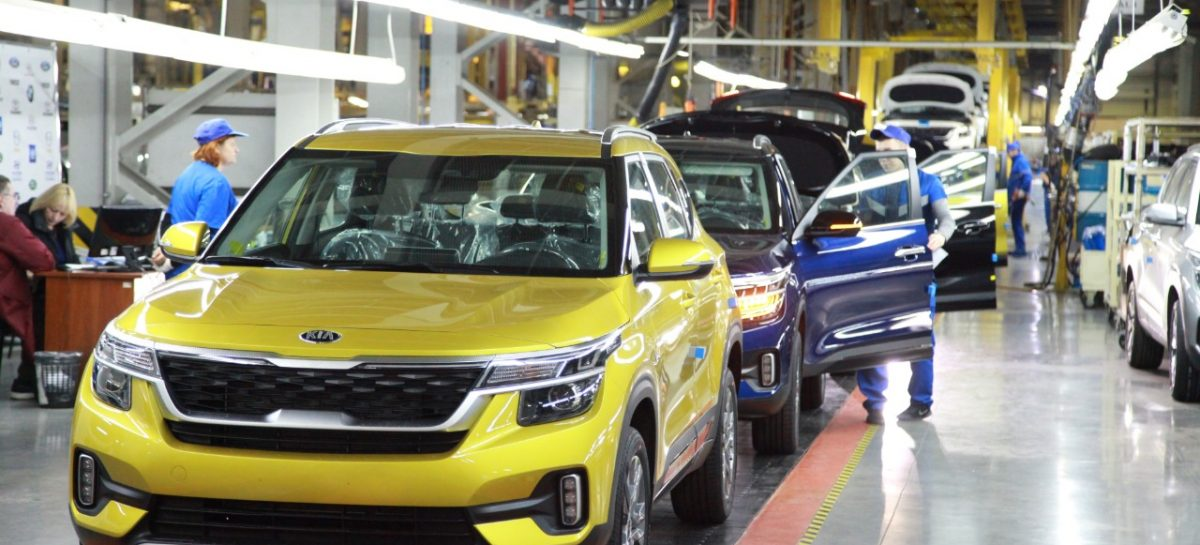Kia объявляет о начале производства Seltos в России
