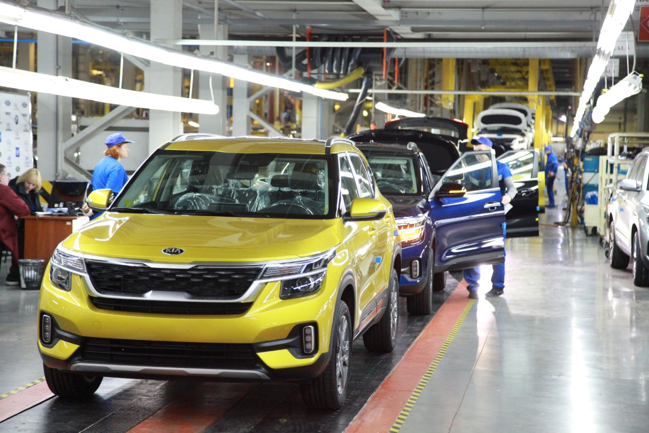 KIA Seltos на заводе «Автотор» в Калининграде