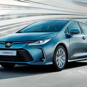 Toyota Corolla — самая распространенная в парке бренда модель