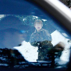 В США водитель открыл огонь по детям, бросавшим снежки в его машину