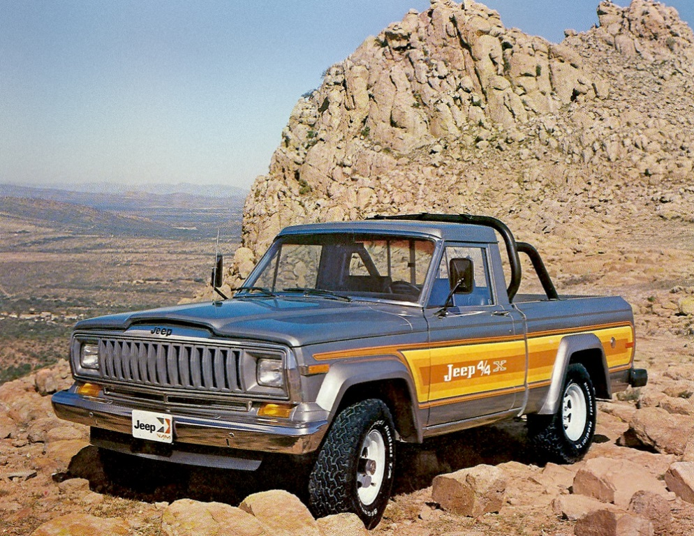 Jeep 4 4X Pick-Up 1983