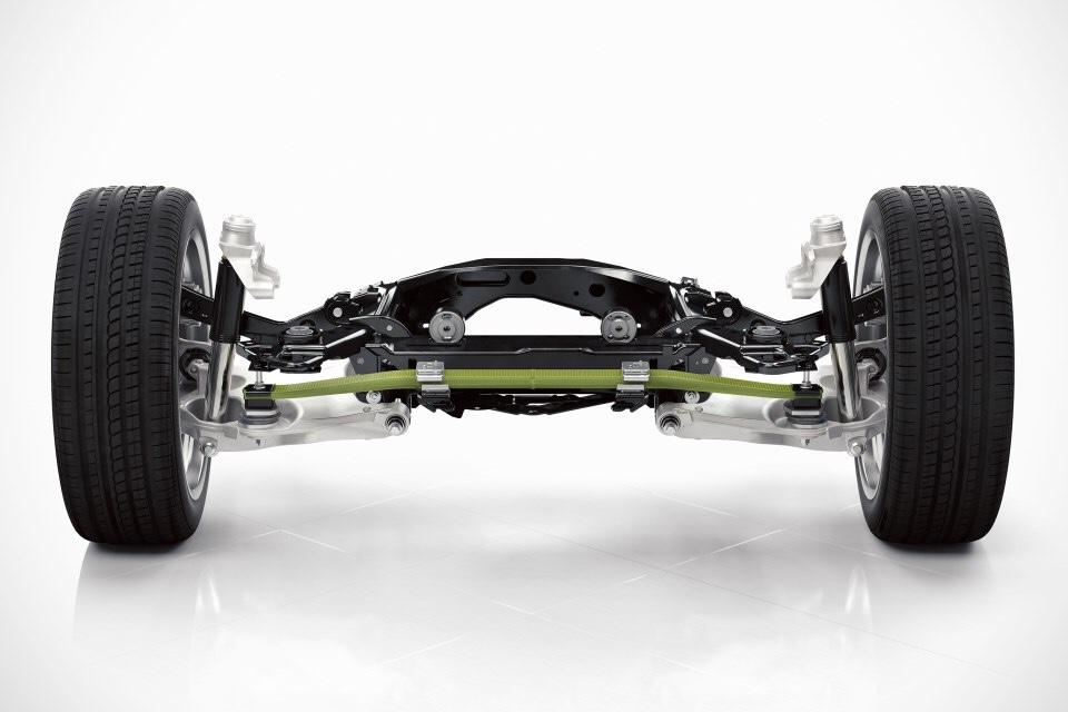 Задняя рессора Volvo XC60