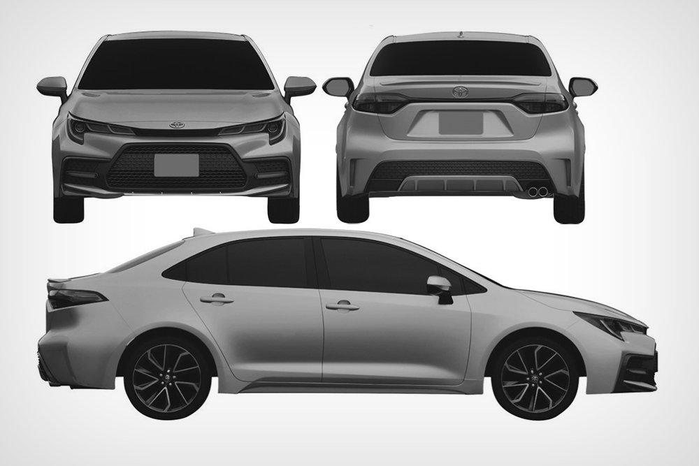 Американская Toyota Corolla