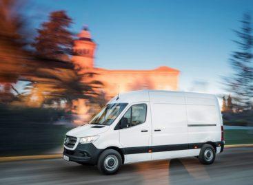 Новый Mercedes-Benz Sprinter в 2019 году стал бестселлером марки в России