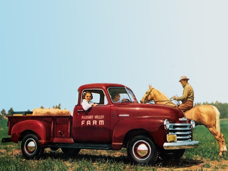 Chevrolet 3600 Deluxe Pickup truck 1948