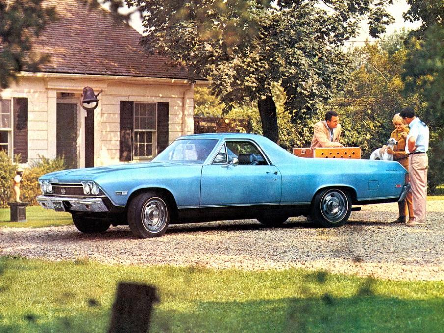 Chevrolet El Camino SS 1968